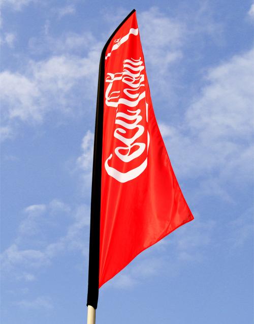 Steag de plajă 440x85